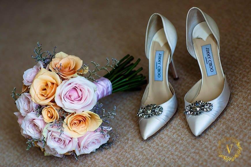 beautiful pale colour bouquet for russian bride anna destination wedding in Hvar  - Luxury Wedding Gallery