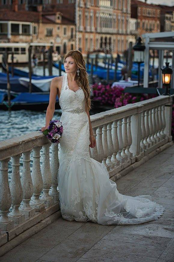 bide alone grand canal hotel westin terace venice italy - Luxury Wedding Gallery