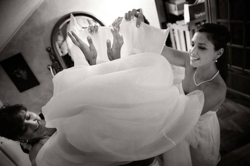 bride getting ready documentary photography - Luxury Wedding Gallery