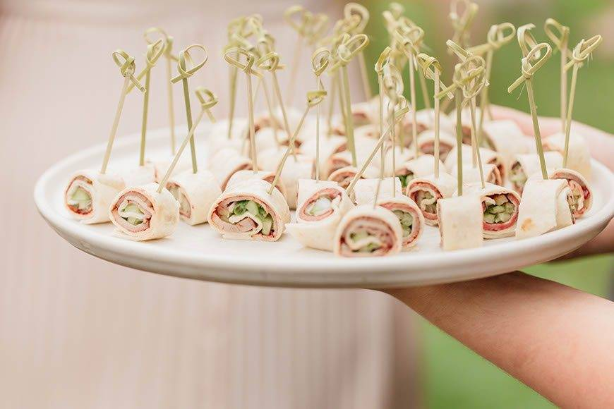 canapes - Luxury Wedding Gallery