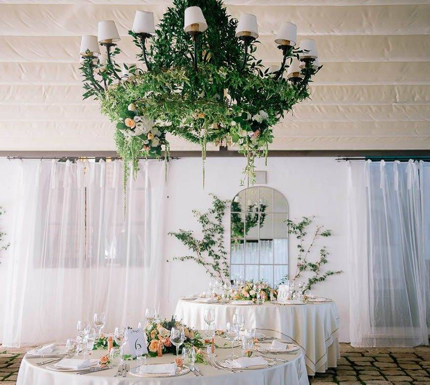floral decorations - Luxury Wedding Gallery