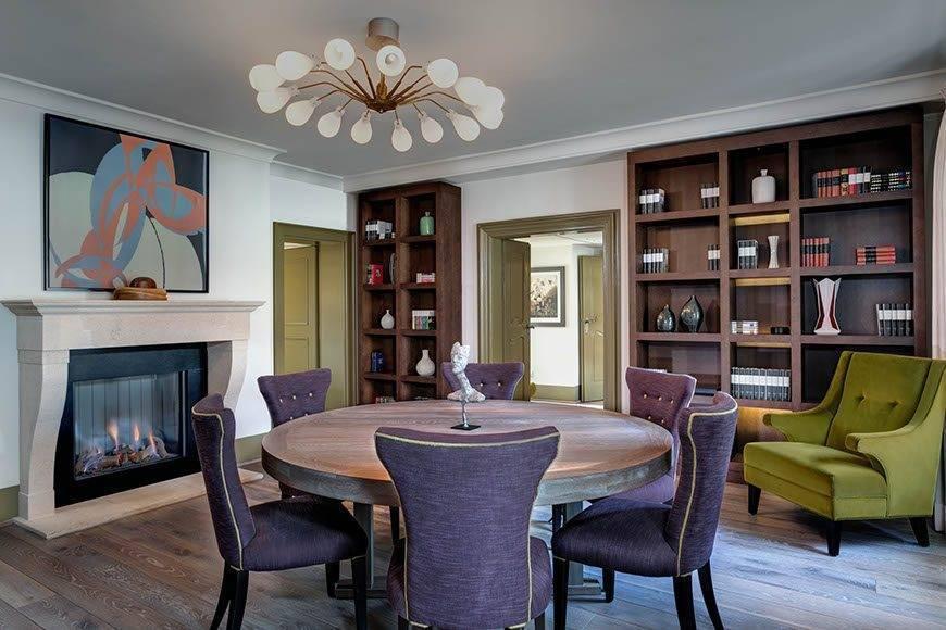 lux4310gr 179467 Presidential Suite dining room - Luxury Wedding Gallery