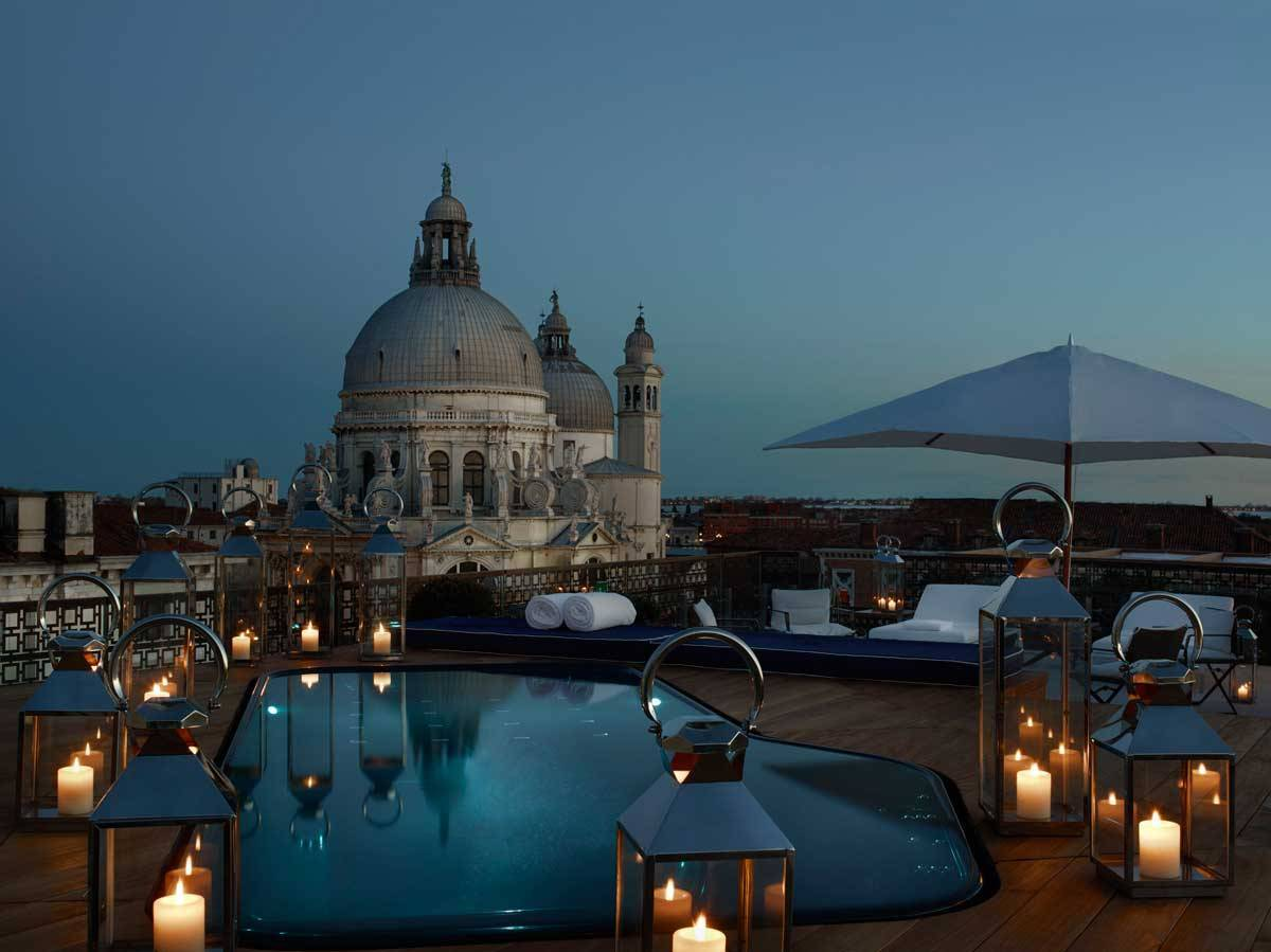 lux73gr 134454 The Redentore Terrazza Suite Plunging Pool - Luxury Wedding Gallery