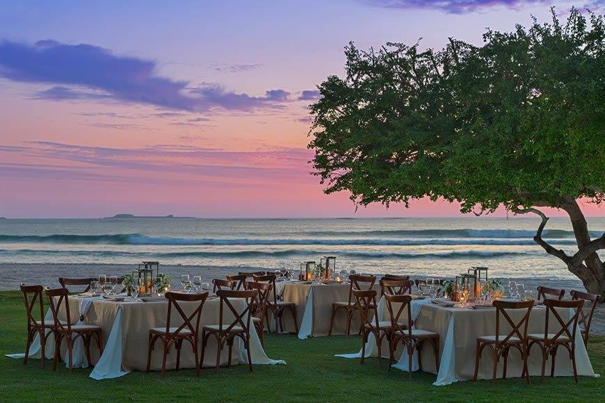 str1734ag 188566 Beach Wedding Set Up - Luxury Wedding Gallery