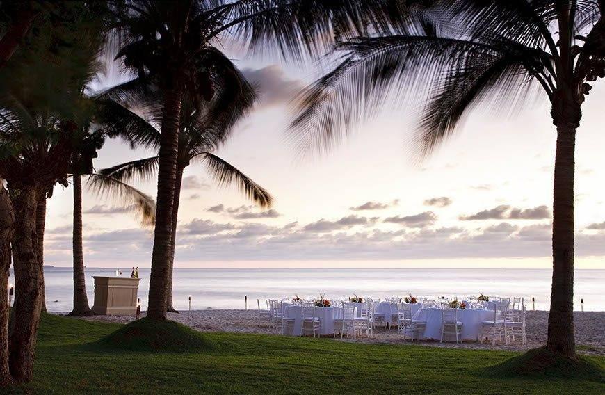 str1734ag 78996 Beach Wedding Set Up - Luxury Wedding Gallery