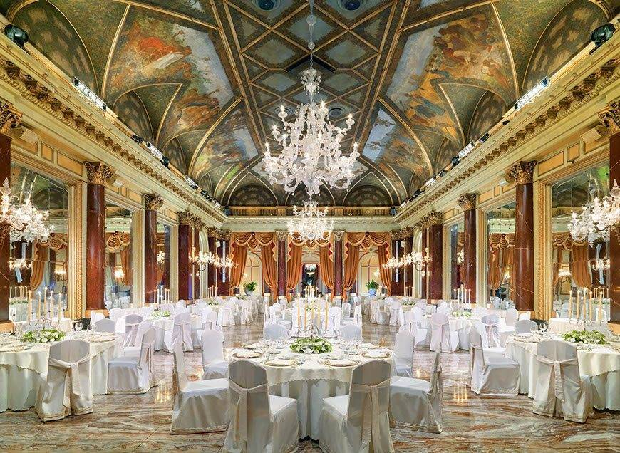 str71br 85310 Ritz Ballroom Gala Dinner - Luxury Wedding Gallery