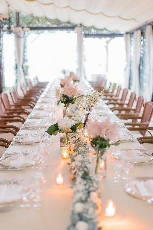top table floral decorations - Luxury Wedding Gallery