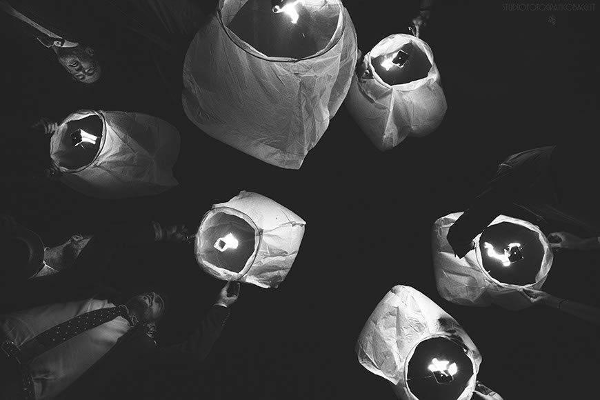 wedding lantern party - Luxury Wedding Gallery