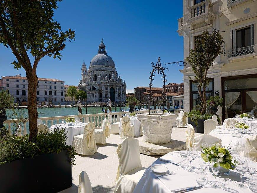 wes75br 123396 La Terrazza sul Canal Grande wedding setup - Luxury Wedding Gallery