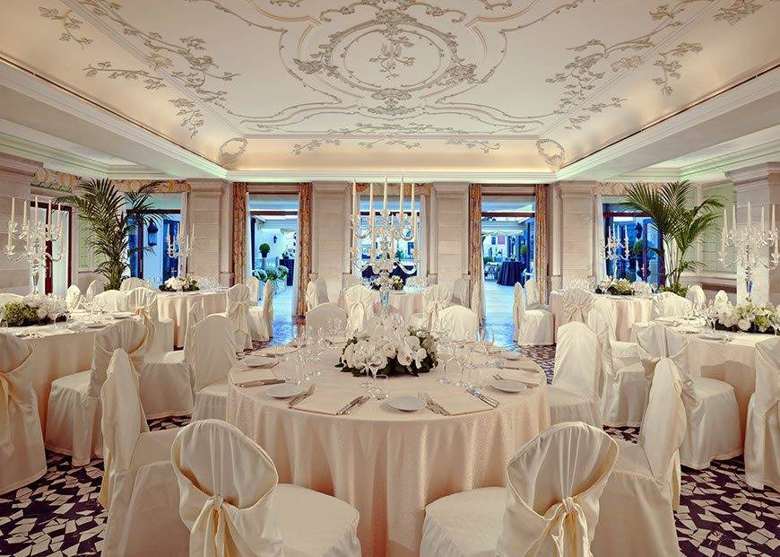 wes75br 144409 Sala Canaletto Banquet 1 - Luxury Wedding Gallery