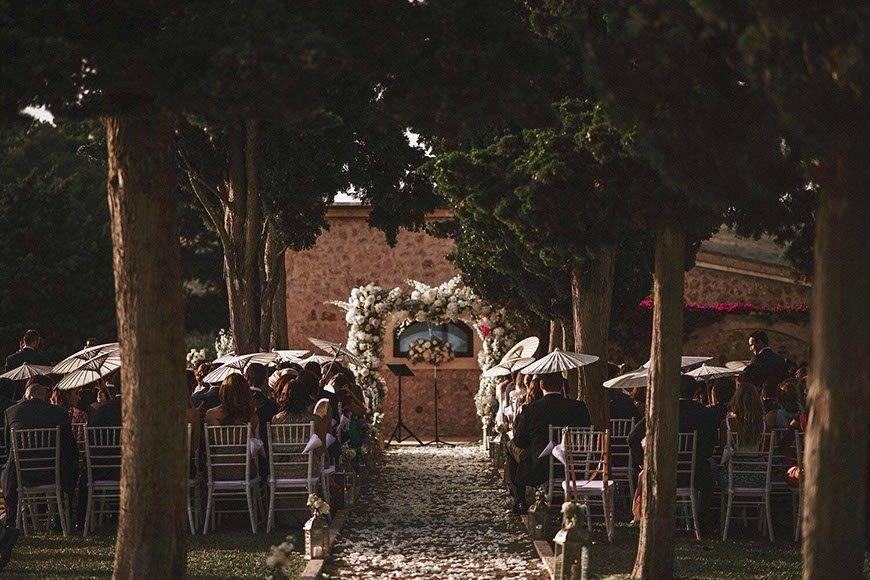 Exquisite garden ceremony by Alago Events - Luxury Wedding Gallery
