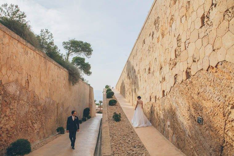 Fortress wedding shoot by Alago Events - Luxury Wedding Gallery