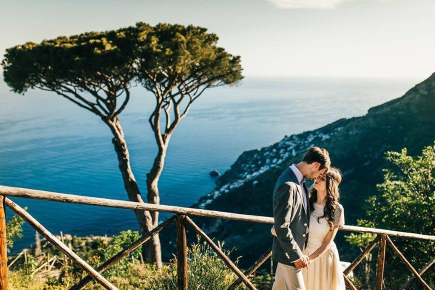 Real Wedding on The Amalfi Coast