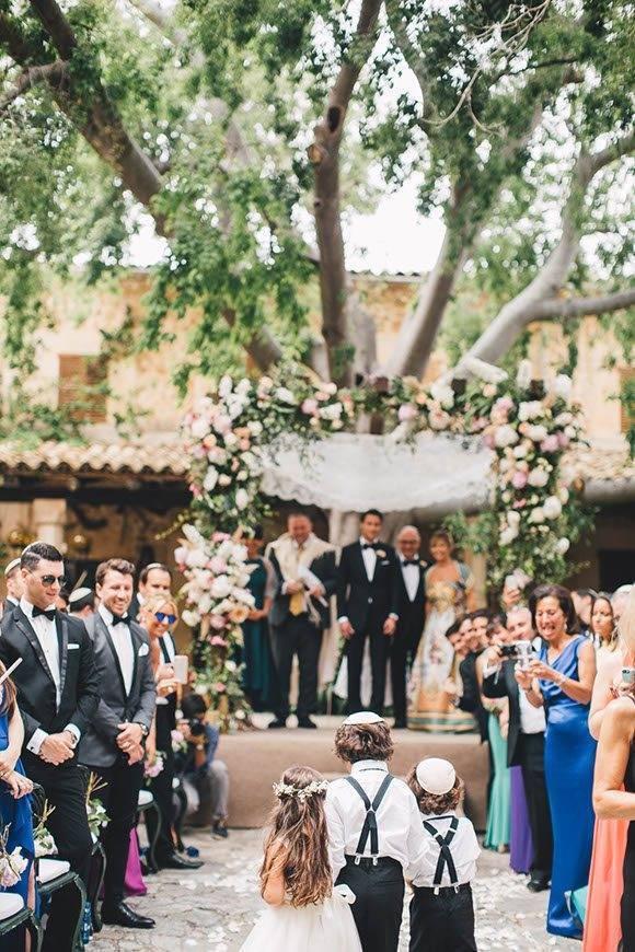 Jewish Wedding celebration in Chuppah by Alago Events - Luxury Wedding Gallery