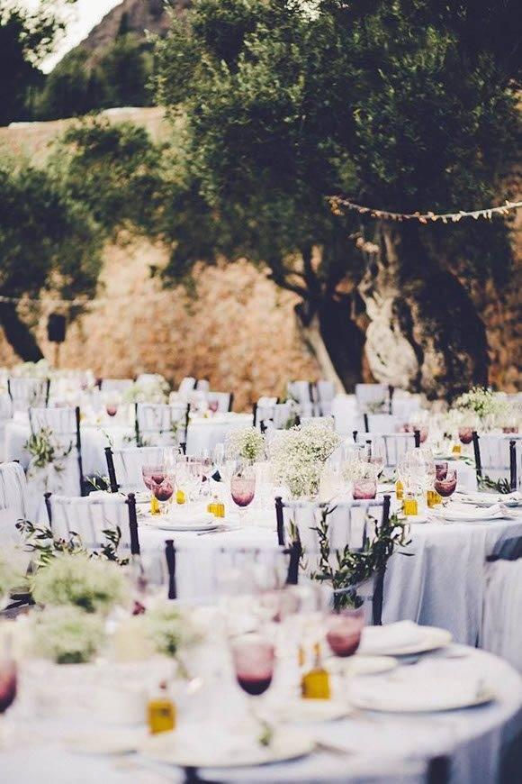 Olive grove garden wedding by Alago Events - Luxury Wedding Gallery