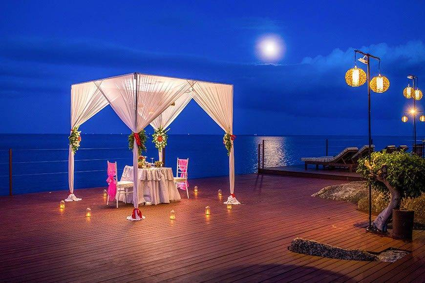 Private Romantic Dinner Kala Samui - Luxury Wedding Gallery