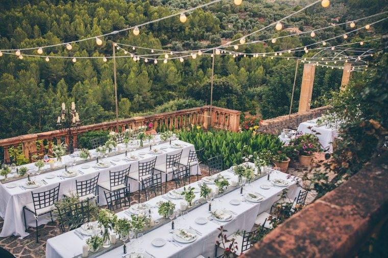 Villa wedding banquet by Alago Events - Luxury Wedding Gallery