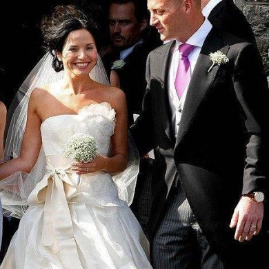 Andrea Corr Marries Billionaire's Son Brett Desmond
