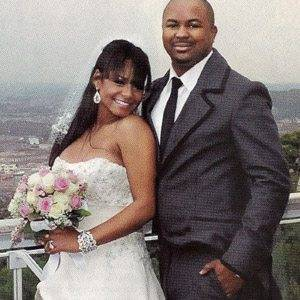 Christina Milian gets married in Las Vagas