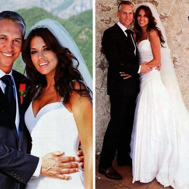 The Secret Wedding of Garry Lineker and Danielle Bux