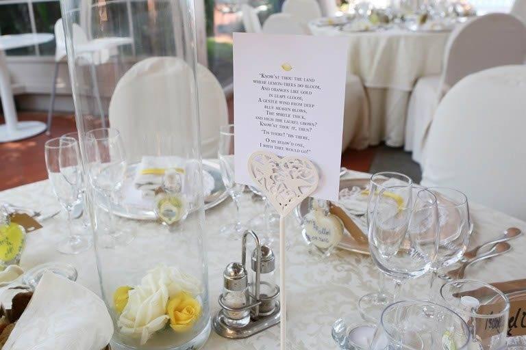 Wedding Table In Sorrento