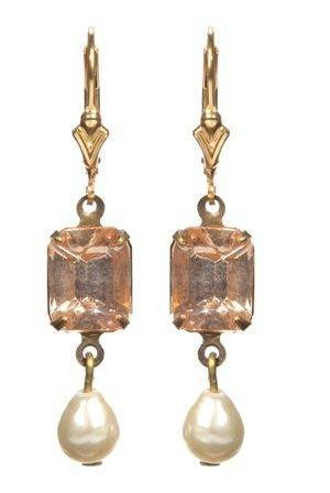 peach-georgian-rhinestone-earrings