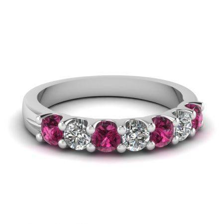 white-gold-round-dark-pink-sapphire-wedding-band-with-white-diamond-in-shared-prong-set-fdwb5200bgsadrpi-nl-wg