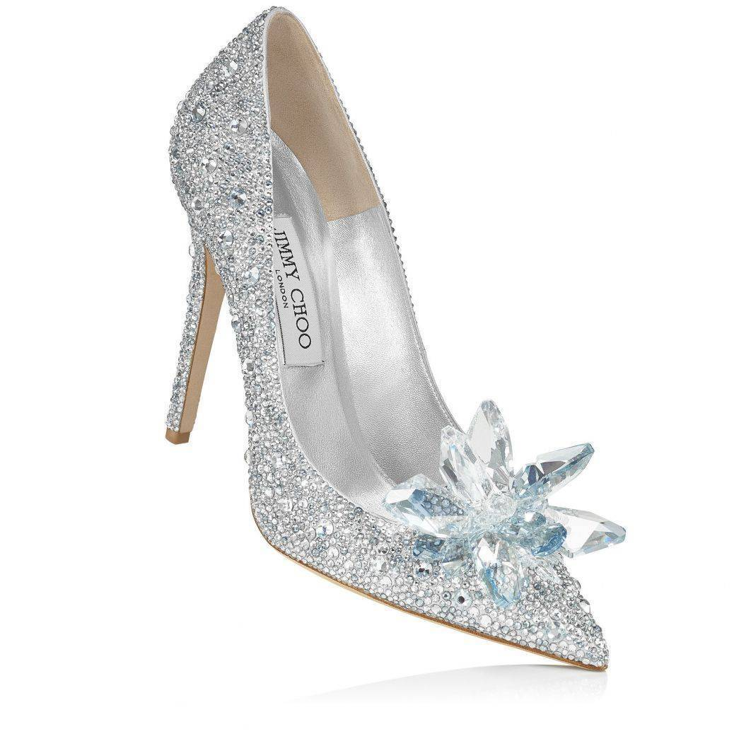 Ice is nice. Choose some crystal drenched Jimmy Choos.