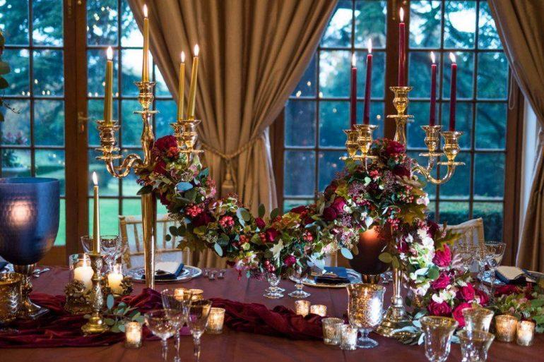 A festive feast at Hedsor House