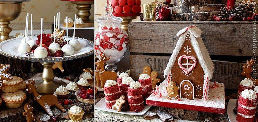 Dessert Table Christmas Details - Immaculate Confections - Gallery