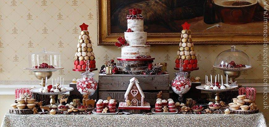 Dessert Table Christmas - Immaculate Confections - Gallery