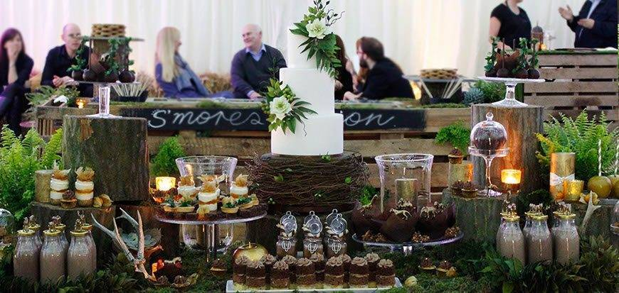 Dessert Table Rustic Woodland full - Immaculate Confections - Gallery