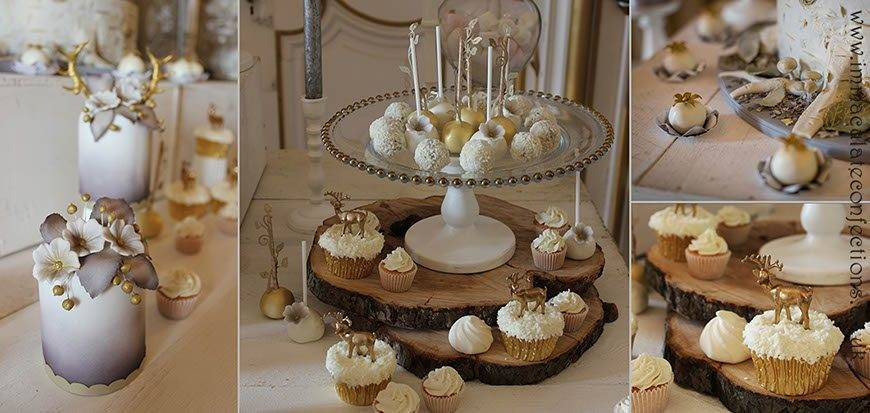 Dessert Table Winter Woodland Elegance Details - Immaculate Confections - Gallery