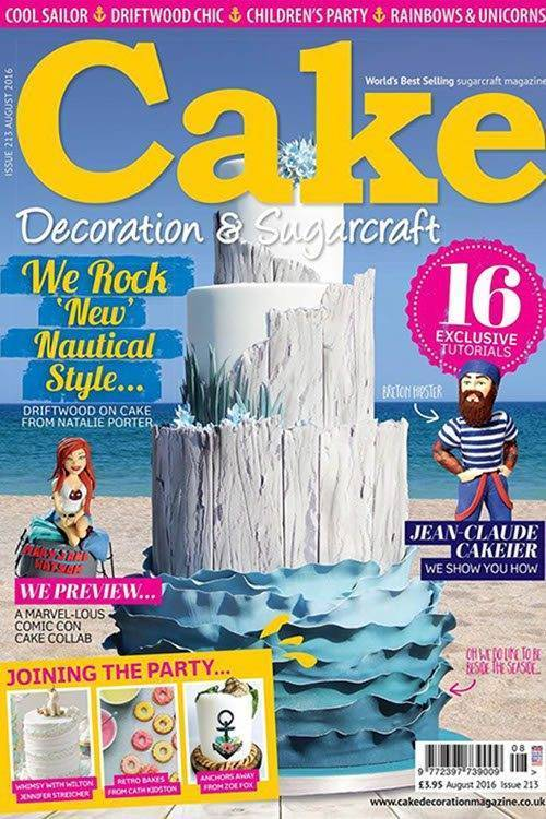 Driftwood Seaside Wedding Cake 3 - Immaculate Confections - Gallery