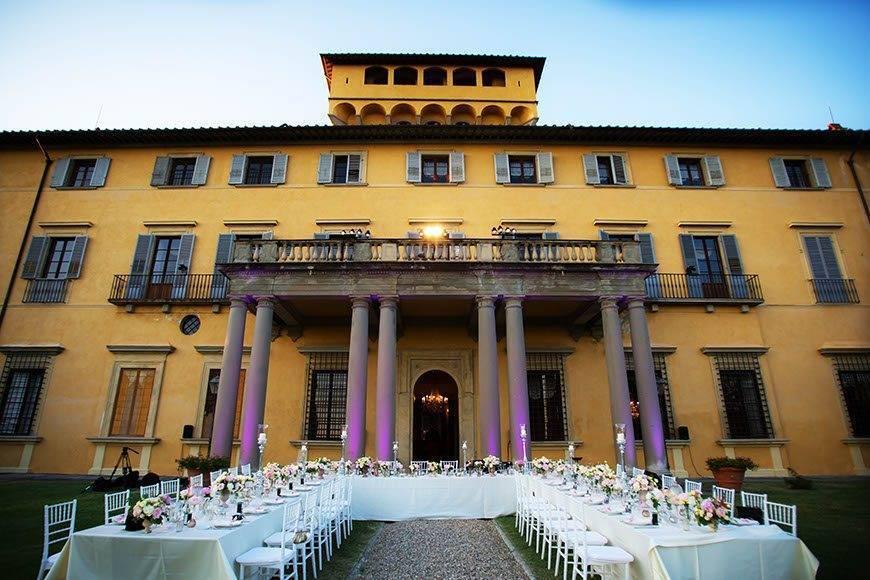 Italian villa wedding - Luxury Wedding Gallery