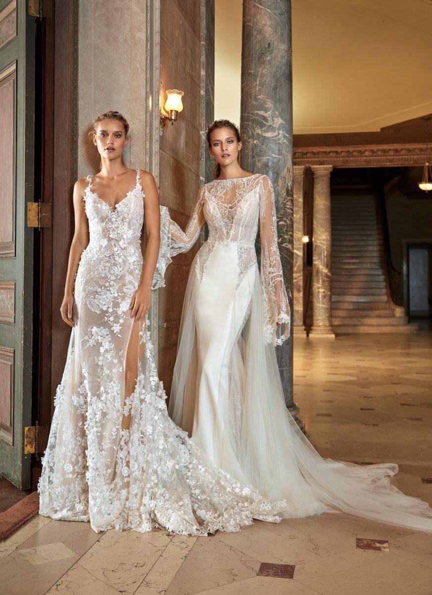 Kira & Penelope - a stunning split and abundant lace