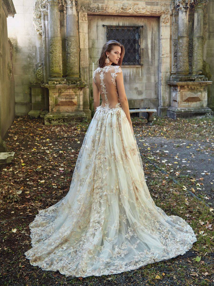 Lilyrose - a stunningly detailed, intricate back to this gown