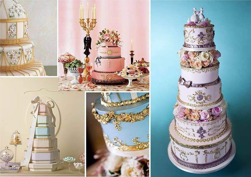 Ornate Wedding Cakes - Luxury Wedding Gallery