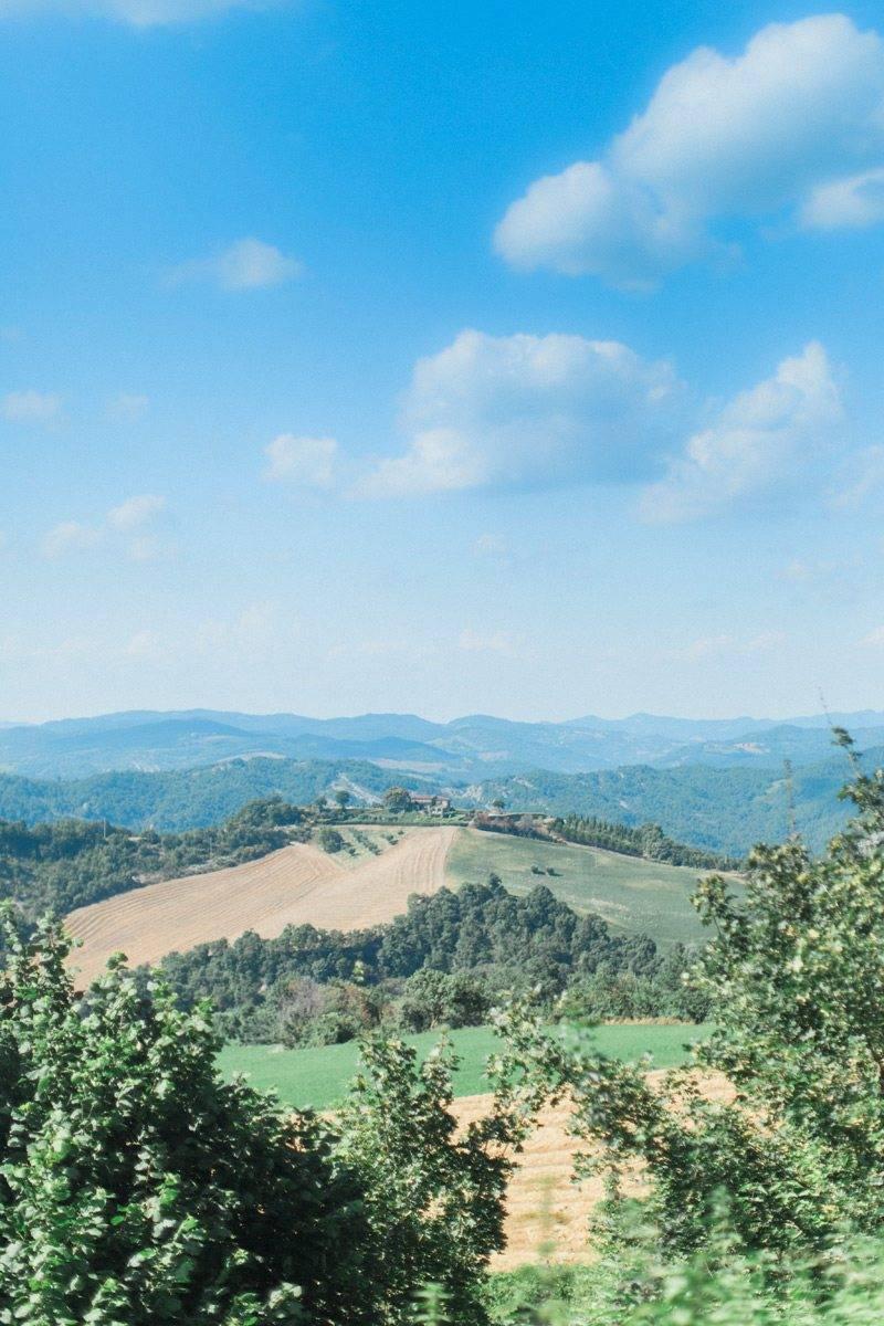 Panoramic view - The Abbazia San Faustino – Gallery