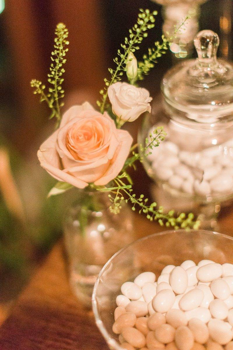 Sugared almonds detail - Luxury Wedding Gallery
