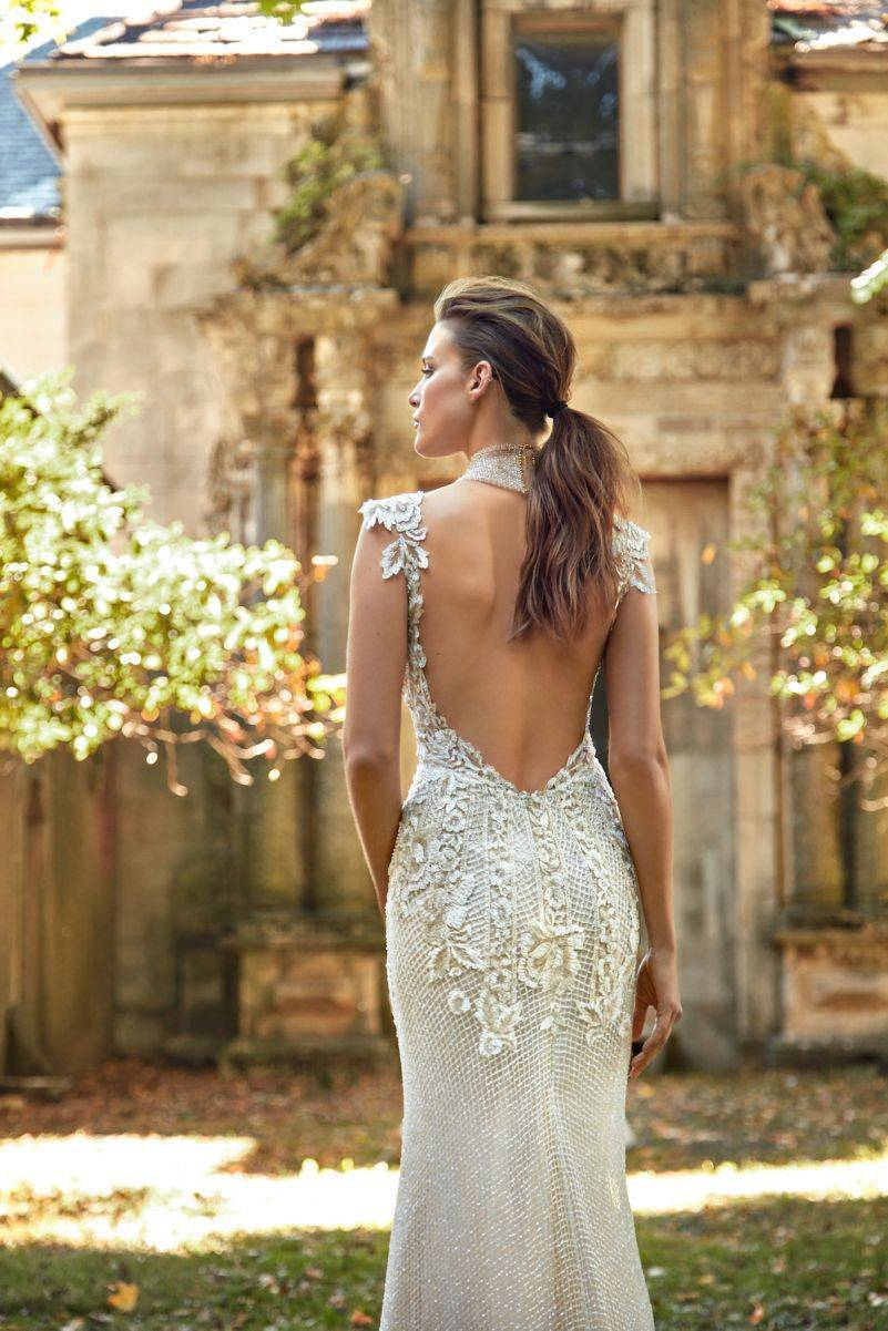 Summerbella - Such gorgeous beading throughout this gown makes it a shimmering masterpiece
