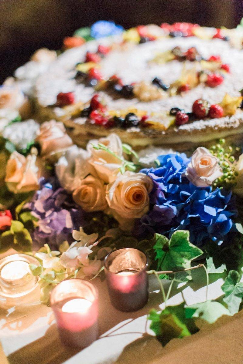 Wedding cake details - The Abbazia San Faustino – Gallery