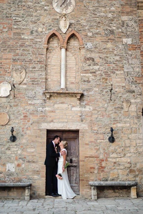bride groom door frame - Italian Weddings International - Gallery