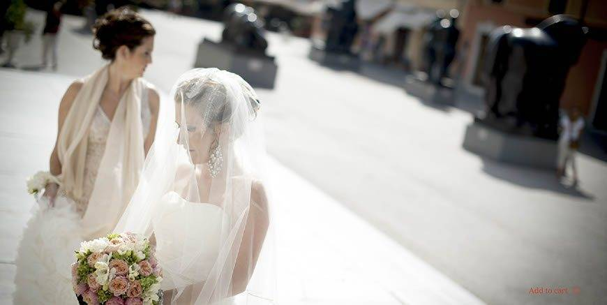 bride in Pietrasanta - Italian Weddings International - Gallery
