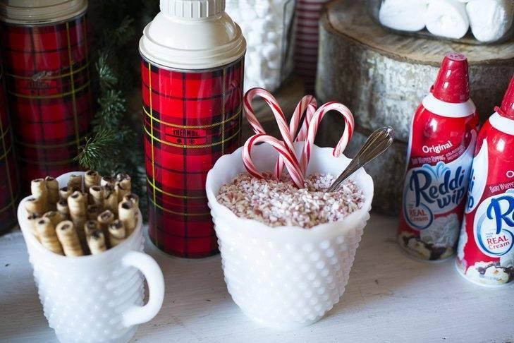 Plenty of hot chocolate extras! Photo: Brinton Studios