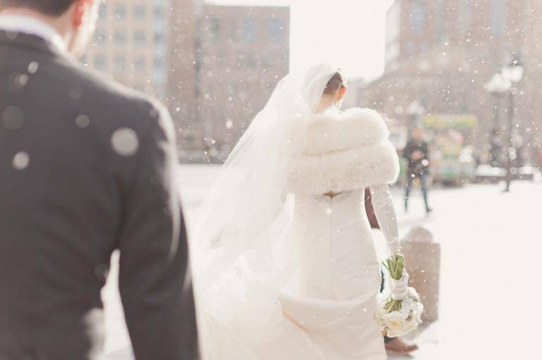A super soft stole will keep the chill out. Photo Elizabeth Millay Photography