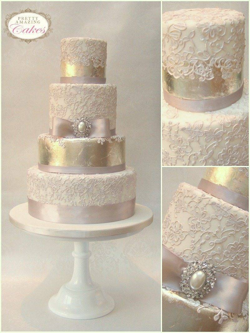 Dusky pinks and antique tarnish are pretty for this theme Photo: Sarah McEvoy