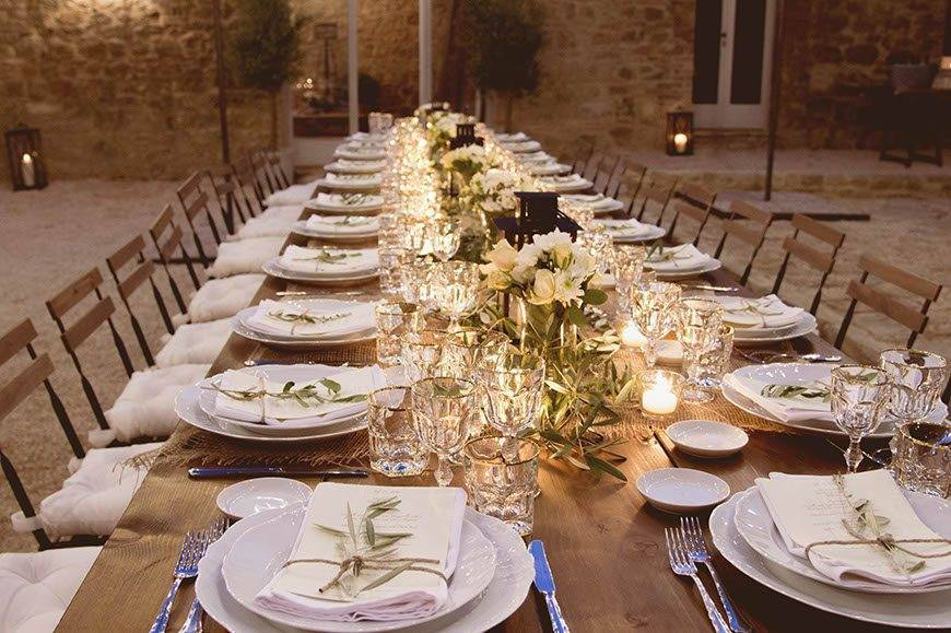 rustic wedding decor - Italian Weddings International - Gallery