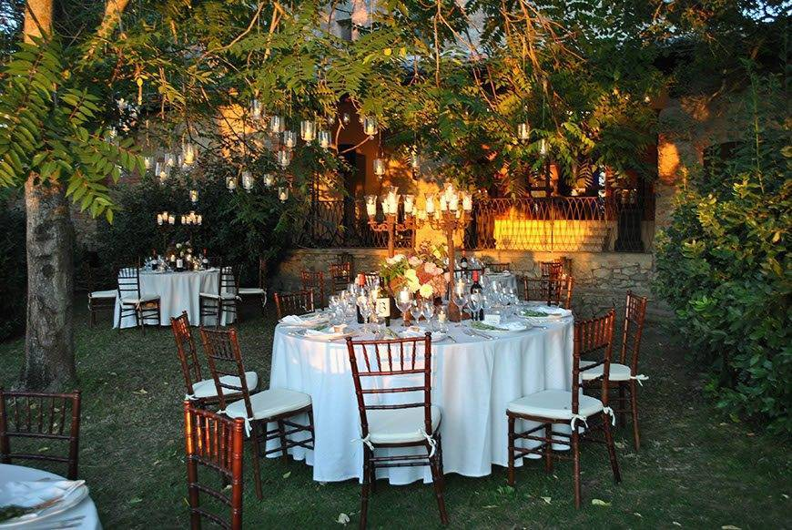 table at sunset - Italian Weddings International - Gallery