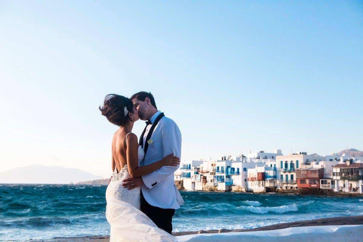 3.Mitheo Events Mykonos WeddingLittle Venice Anna Fowler photo - Luxury Wedding Gallery